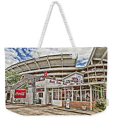 In The Shadow Of The Stadium - Hdr Weekender Tote Bag
