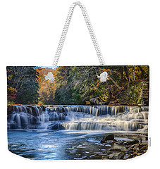 Squaw Rock - Chagrin River Falls Weekender Tote Bag