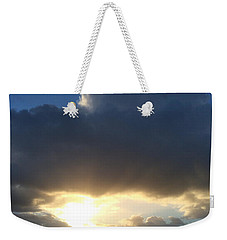 Sunbeams Over Conwy Weekender Tote Bag