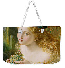 Take The Fair Face Of Woman Weekender Tote Bag by Sophie Anderson