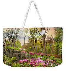 The Azalea Garden Weekender Tote Bag