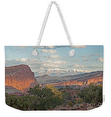 The Goosenecks Capitol Reef National Park Weekender Tote Bag