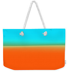Travelling Through Paradise Weekender Tote Bag
