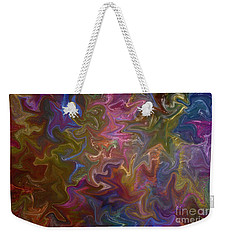 Weekender Tote Bag featuring the photograph Agitated by Nareeta Martin