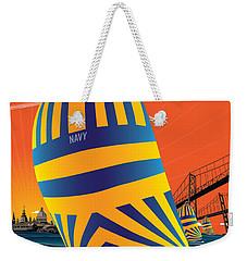 Usna Sunset Sail Weekender Tote Bag