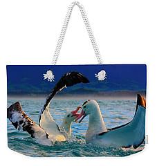Wandering Albatross Weekender Tote Bag by Amanda Stadther