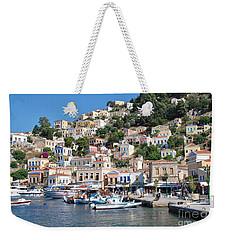 Yialos Harbour Symi Weekender Tote Bag