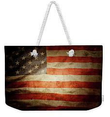 American Flag 48 Weekender Tote Bag