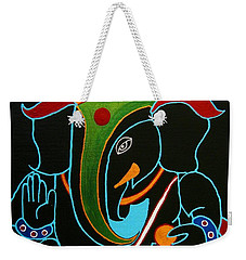 31 Rudrapriya Ganesh Weekender Tote Bag by Kruti Shah
