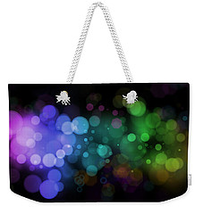 Colour In The Night Weekender Tote Bag