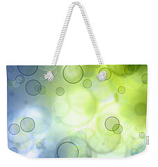 Abstract Circles 44 Weekender Tote Bag