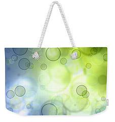 Abstract Circles 44 Weekender Tote Bag