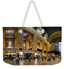 360 Panorama Of Grand Central Terminal Weekender Tote Bag