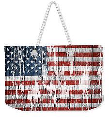 American Flag 49 Weekender Tote Bag