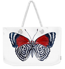 37 Diathria Clymena Butterfly Weekender Tote Bag