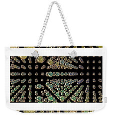 Weekender Tote Bag featuring the photograph 3d Spheres by Susan Leggett