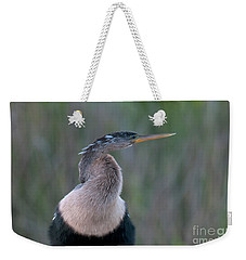 Anhinga Weekender Tote Bag by Mark Newman