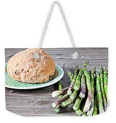 Asparagus Weekender Tote Bag by Tom Gowanlock