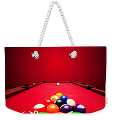 Billards Pool Game Weekender Tote Bag