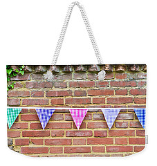 Bunting Weekender Tote Bag by Tom Gowanlock