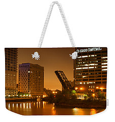 Chicago Weekender Tote Bag by Miguel Winterpacht