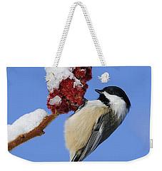 Chickadee Love... Weekender Tote Bag