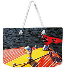 Chris Craft Continental Weekender Tote Bag