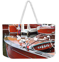 Chris Craft Sportsman Weekender Tote Bag