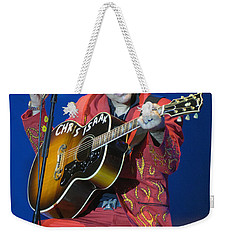 Chris Isaak Weekender Tote Bag