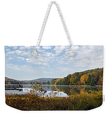 Sitting On The Dock Weekender Tote Bag