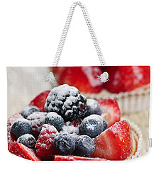 Fruit Tarts Weekender Tote Bag by Elena Elisseeva