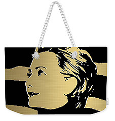 Hillary Clinton Gold Series Weekender Tote Bag by Marvin Blaine