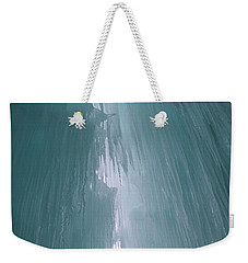 Ice Castle  Weekender Tote Bag