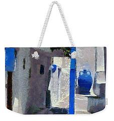 Kastro Village In Sifnos Island Weekender Tote Bag