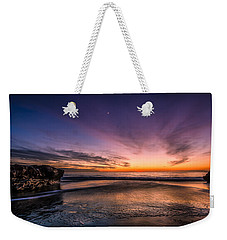4 Mile Beach Sunset Weekender Tote Bag