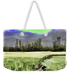 Mustard Fields In Kashmir Weekender Tote Bag