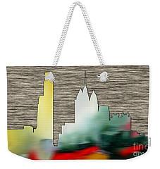 Philadelphia Skyline Weekender Tote Bag