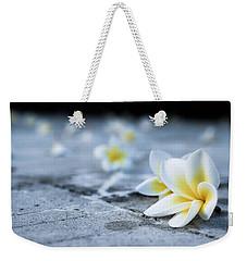Plumaria Flowers Weekender Tote Bag