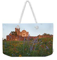 Weekender Tote Bag featuring the photograph Presidio La Bahia 2 by Susan Rovira