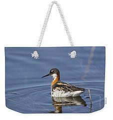 Rednecked Phalarope Weekender Tote Bag