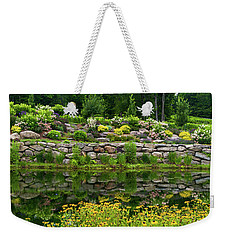 Rocks And Plants In Rock Garden Weekender Tote Bag