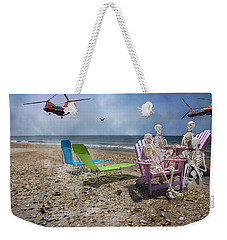 Search Party Weekender Tote Bag by Betsy Knapp