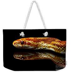 Snake Weekender Tote Bag by Gunnar Orn Arnason