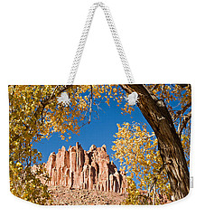 The Castle Capitol Reef National Park Weekender Tote Bag