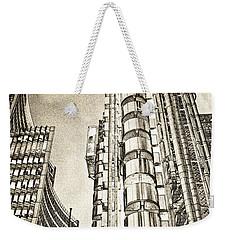 Willis Group And Lloyd's Of London Art Weekender Tote Bag