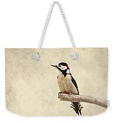 Woodpecker Weekender Tote Bag by Heike Hultsch