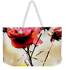 Weekender Tote Bag featuring the photograph 40 Something by Faith Williams