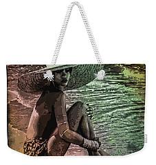 Rihanna Weekender Tote Bag by Svelby Art