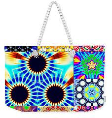 432hz Cymatics Grid Weekender Tote Bag
