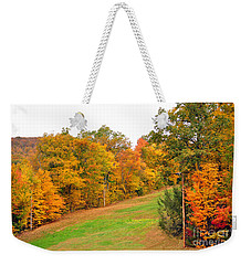 Fall Foliage In New England Weekender Tote Bag